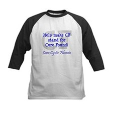 Blue CF Cure Found Tee
