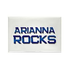 arianna rocks Rectangle Magnet