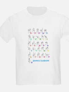Manual Alphbet T-Shirt