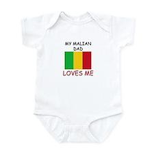 My MALIAN DAD Loves Me Infant Bodysuit