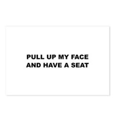 Pull up my Face Postcards (Package of 8)