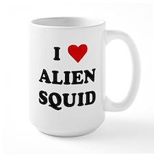 I heart alien squid Mug