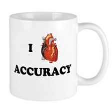 I <3 Accuracy Mug
