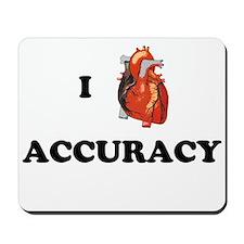 I <3 Accuracy Mousepad