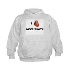 I <3 Accuracy Hoodie