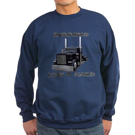Running Low & Hard Sweatshirt (dark)