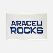 araceli rocks Rectangle Magnet