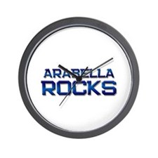 arabella rocks Wall Clock