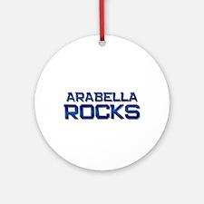 arabella rocks Ornament (Round)