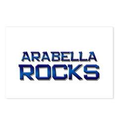 arabella rocks Postcards (Package of 8)