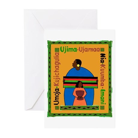 Kwanzaa Gift Greeting Cards (Pk of 10)