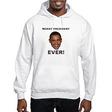 Obama Worst President Ever Hoodie