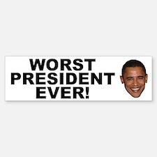 Obama Worst President Ever Bumper Bumper Bumper Sticker