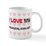 I Love My Financial Analyst Mug