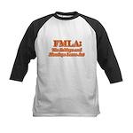 FMLA Fraud Kids Baseball Jersey