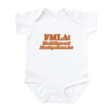 FMLA Fraud Infant Bodysuit