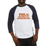 FMLA Fraud Baseball Jersey