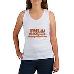 FMLA Fraud Women's Tank Top