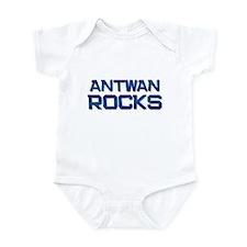 antwan rocks Infant Bodysuit