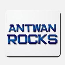 antwan rocks Mousepad