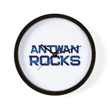 antwan rocks Wall Clock
