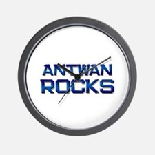 antwan rocks Wall Clock