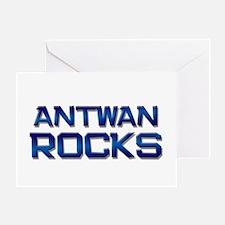 antwan rocks Greeting Card