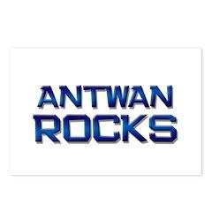 antwan rocks Postcards (Package of 8)