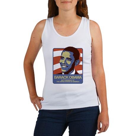 Barack Obama 44 Women's Tank Top