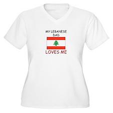 My LEBANESE DAD Loves Me T-Shirt