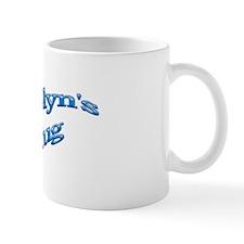 Carolyn's Blue Mug