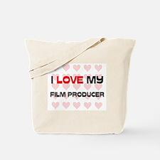 I Love My Film Producer Tote Bag