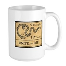 Unite or Die Mugs