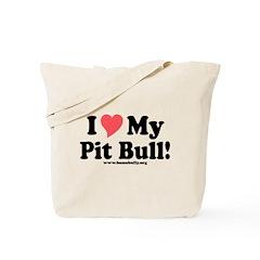 Heart PB Tote Bag