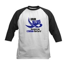 I Wear Blue For My Cousin 33 CC Tee