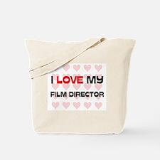 I Love My Film Director Tote Bag