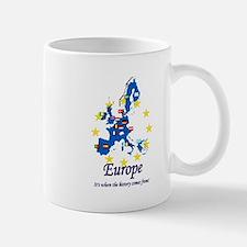 """European """"History"""" Mug"""