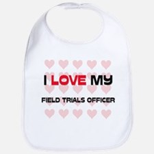 I Love My Field Trials Officer Bib