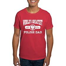 World's Greatest Polish Dad T-Shirt