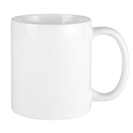 Stay at Home Mom Red Print Mug