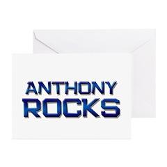 anthony rocks Greeting Cards (Pk of 10)