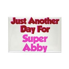 Another Day Abby Rectangle Magnet