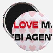 "I Love My Fbi Agent 2.25"" Magnet (10 pack)"