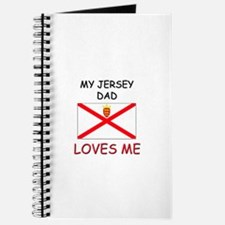 My JERSEY DAD Loves Me Journal