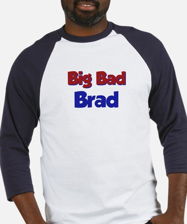 Big Bad Brad Baseball Jersey