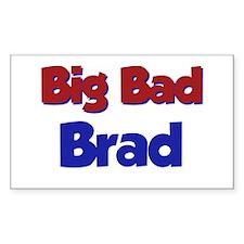 Big Bad Brad Rectangle Decal