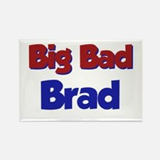 Big Bad Brad Rectangle Magnet