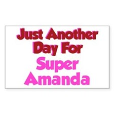 Another Day Amanda Rectangle Decal