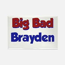 Big Bad Brayden Rectangle Magnet