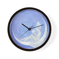 Crescent Moon Ballet Wall Clock